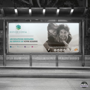 Affichage Grand format - Biotech Dental
