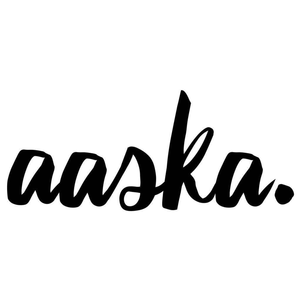logo Aaska graphiste freelance morbihan bretagne