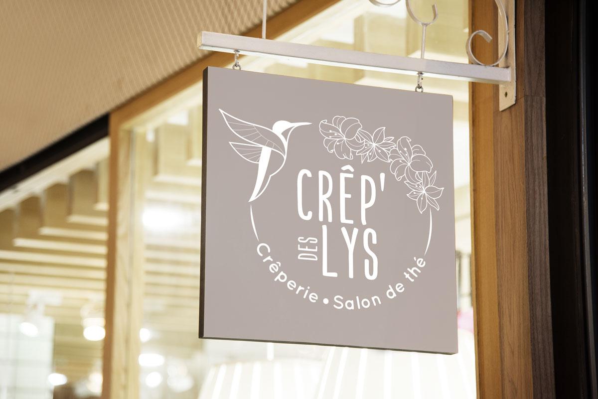 Logo – Crêp'des Lys