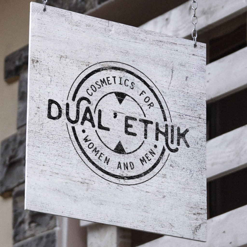dual ethik aaska graphisme logo