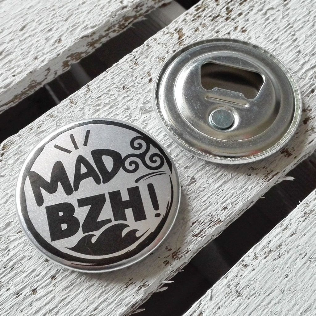 aaska graphisme mad bzh magnet decapsuleur