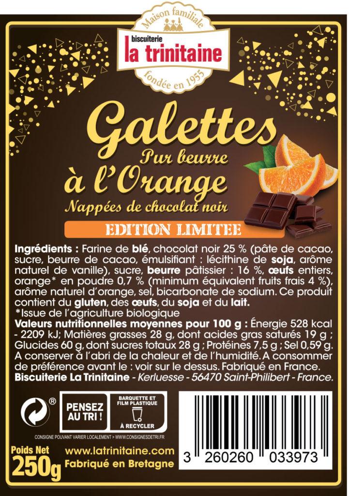 AAASKA GALETTES ORANGE CHOCOLAT LA TRINITAINE